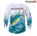 Camisa Monster 3X Atum Fish Collection XG