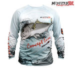 Camisa Monster 3X Olho de Boi Fish Collection M