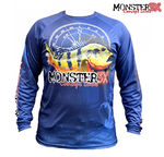 Camisa Monster 3X Tucunaré Fish Collection P