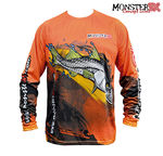 Camisa Monster 3X Robalo Fish Collection P